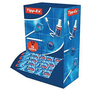 Tipp-Ex Pocket Mouse Correction Tape - 10 m x 4.2 mm, Pack of 15+5