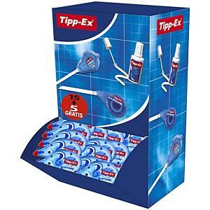 Pack de 15 + 5 correctores Tipp-ex - pocket mouse