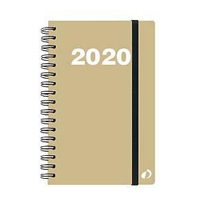 Agenda spiralata Quo Vadis Oslo formato Ministro 16x24 cm oro