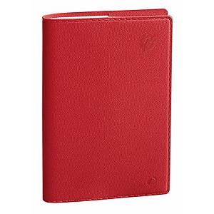 Agenda Quo Vadis Presidente Equology 21x27 cm rosso