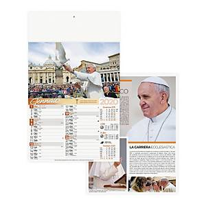 Calendario murale Papa Francesco 29x47 cm