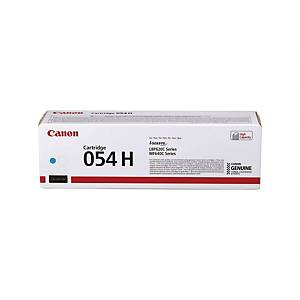 Lasertoner Canon 054H 3027C002, 2.300 sider, cyan