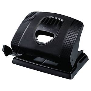 Maped Essentials Green Hole Punch 2-Hole H/Duty Black