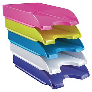 CEP Gloss Energy Letter Tray A4 Asst - Pack Of 5