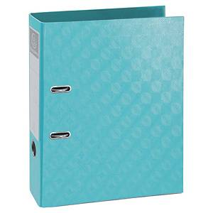 Exacompta 1928 Prem Touch Lever A4 Lever Arch File, 70mm Spine, Tropical Blue