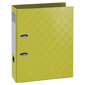 Exacompta 1928 Prem Touch Lever A4 Lever Arch File, 70mm Spine, Lime Green