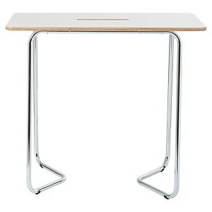 Standing table Duoro Bi-Office, 120 x 70 cm, white