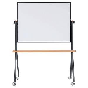 Bi-Office mobiel whiteboard, kantelbaar, 120 x 90 cm