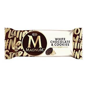 Lody ALGIDA Magnum White Cookie, 20 sztuk x 90 ml*