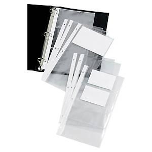 Pochette Elba Elegance pour porte-cartes de visite 29 x 16 cm - par 10