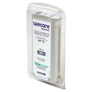 Wecare remanufactured HP 72 (C9374A) inkt cartridge, grijs