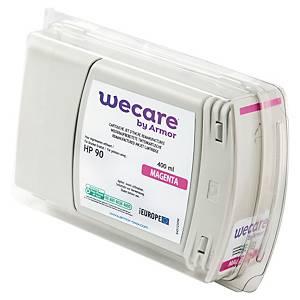 Wecare remanufactured HP 90 (C5063A) inkt cartridge, magenta