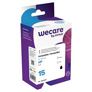 Cartucho tinta remanufacturado We Care compatible para HP 15-C6615D-negro