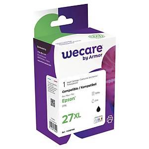 WECARE kompatible Tintenpatrone EPSON 27XL (C13T27114022) schwarz