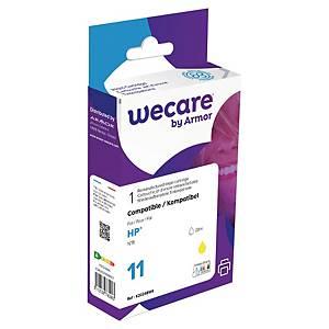 Bläckpatron Wecare kompatibel med HP C4838A, 28 ml, gul