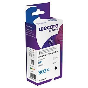 Wecare remanufactured HP 303XL (T6N04AE) inkt cartridge, zwart