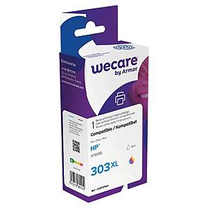 Tintenpatrone wecare  komp. mit HP 303XL/T6N03AE, Inhalt: 18ml, 3-farbig