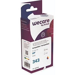 Tintenpatrone wecare  komp. mit HP 343/C8766EE, Inhalt: 22ml, 3-farbig