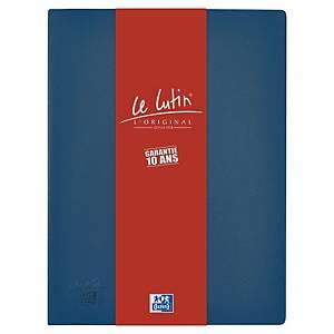 Porte vues Elba Le Lutin - PVC opaque - 10 pochettes - bleu