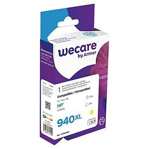 Bläckpatron Wecare kompatibel med HP C4909A, 1 735 sidor, gul