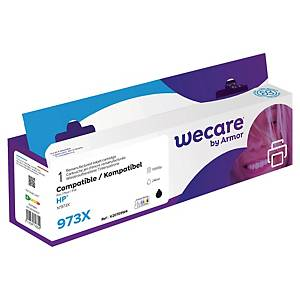 Wecare remanufactured HP 973XL (L0S07AE) inkt cartridge, zwart