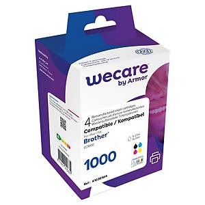 WeCare I/Jet Comp Brother LC1000 BCMY