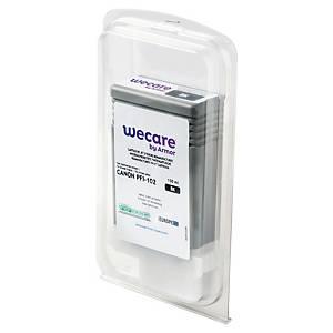 WECARE kompatible Tintenpatrone CANON PFI-102BK (0895B001) schwarz