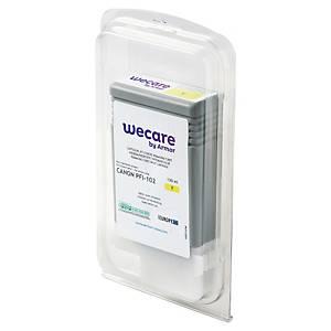 WECARE kompatible Tintenpatrone CANON PFI-102Y (0898B001) gelb