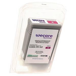 WECARE tintasugaras nyomtató patron CANON PFI-107M (6707B001) magenta