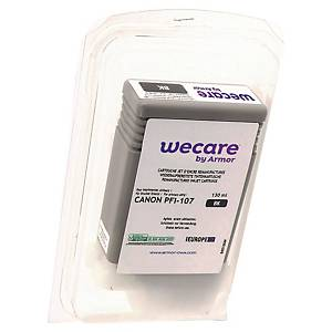 Tusz WECARE zamiennik CANON PFI107BK 6705B001