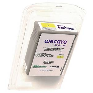 WeCare Compatible Canon PFI-107Y Yellow Ink Cartridge