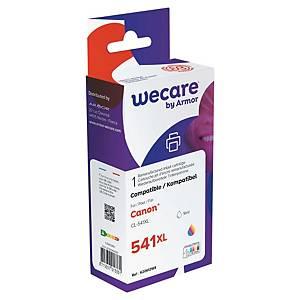 Wecare remanufactured Canon CL-541XL inkt cartridges, cyaan, magenta, geel