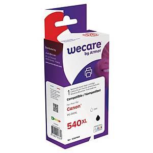 WECARE kompatible Tintenpatrone CANON PG-540XL (5222B005) schwarz
