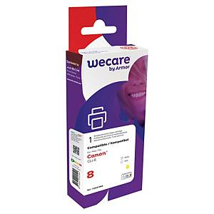 Wecare remanufactured Canon CLI-8 inkt cartridge, geel