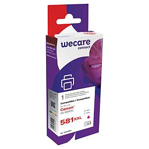 Wecare remanufactured Canon CLI-581XXL inkt cartridge, magenta