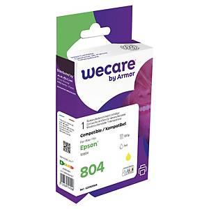 WeCare kompatibilní inkoustová kazeta Epson 804 C13T08044020, žlutá