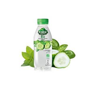 Volvic Essential bio water munt/komkommer, 75 cl, pak van 6 flessen