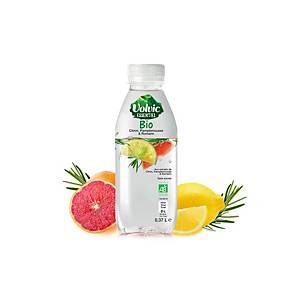 Volvic Essential bio water citrus/rozemarijn, 75 cl, pak van 6 flessen