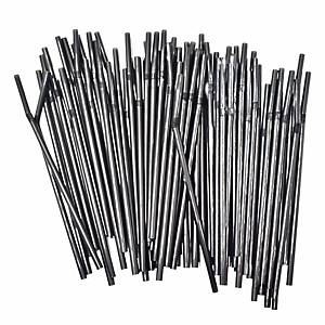 Flexible Plastic Straw 8  - Pack of 250