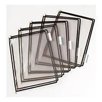Tarifold T-display Industrial pót bemutatótáblák, A4, fekete, 10 darab/csomag