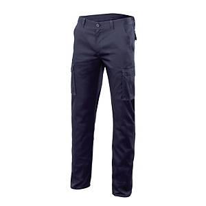 Calças multibolsos Stretch Velilla 103002S - azul marinho - tamanho 42
