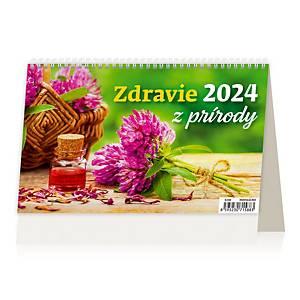 Zdravie z prírody - slovenské dvojtýždňové riadkové kalendárium, 28 + 2 strán