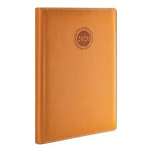 HERLITZ AMSTERDAM DIARY A5 BROWN