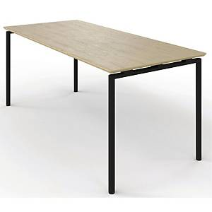 ZIGNAL CANTE TABLE W/LIFTV2 BEECH 120X80