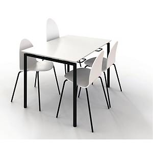 ZIGNAL CANTE TABLE W/LIFTV2 120X80 WHITE