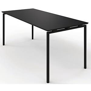 ZIGNAL CANTE TABLE W/LIFTV2 120X80 BLACK