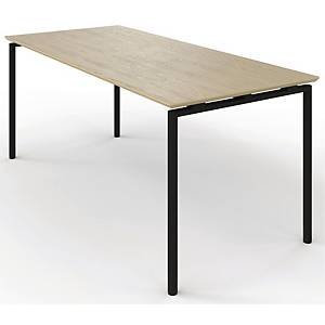ZIGNAL CANTE TABLE W/LIFTV2 BEECH 180X80