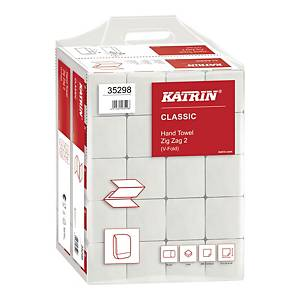 Ręczniki papierowe KATRIN 35298 CLASSIC Handy Pack, składka ZZ, 20 x 200 listków