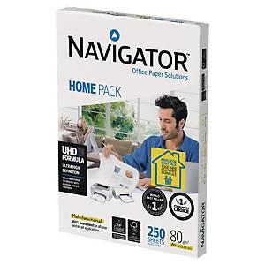 Papier blanc A4 Navigator Home Pack - 80 g - ramette 250 feuilles
