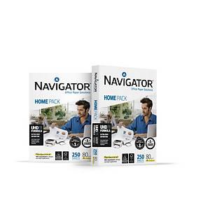 Carta bianca Navigator Home Pack A4 80 g/mq - risma 250 fogli